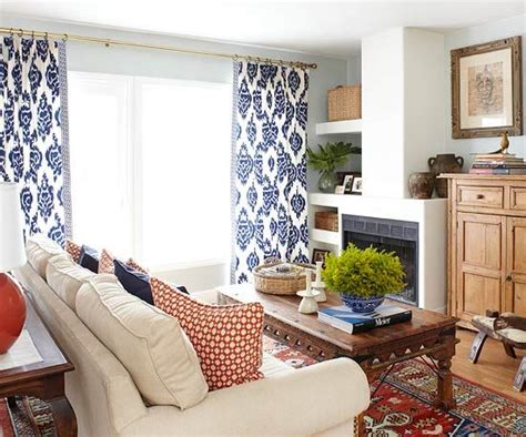 Bold Patterned Curtains 419 Best Family Rooms Dens Images On