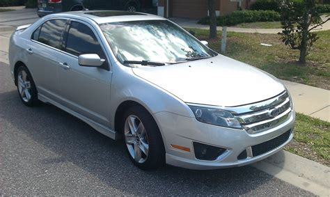 2010 ford fusion mpg 2010 ford fusion sport awd mpg