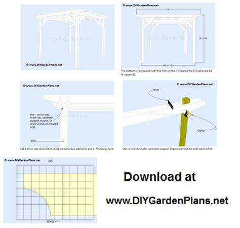 free pergola building plans pergola building plans how to weekend projects
