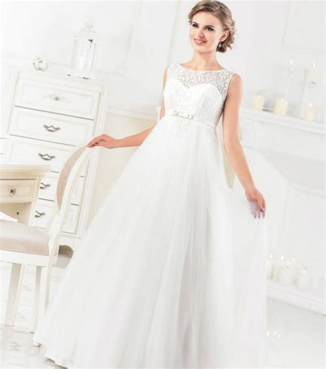A Wedding Dress For A Pregant Chruch by Wedding Dresses For Brides Site