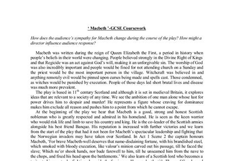 William Shakespeare Essay Topics by Critical Analysis Topics For Macbeth Walmart S Supply Chain Essay