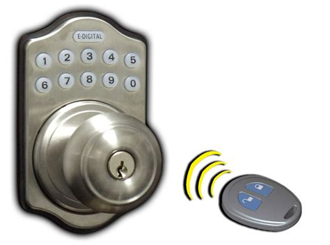 lockey e digital e930r electronic door knob lock with