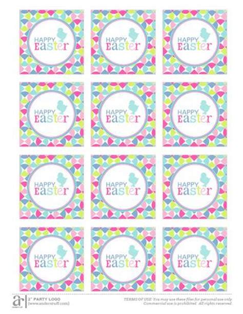 printable easter labels happy easter printable label templates ol713