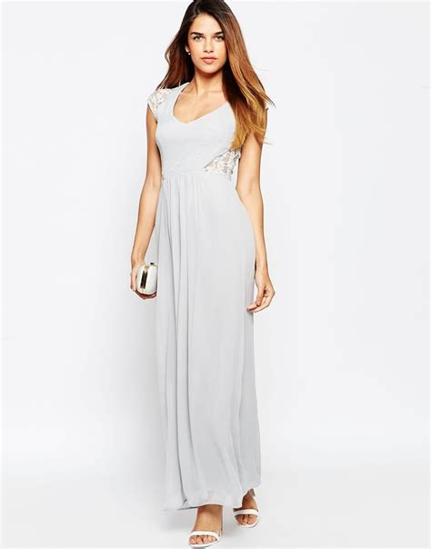 elise ryan maxi dress with lace sleeves what do you think