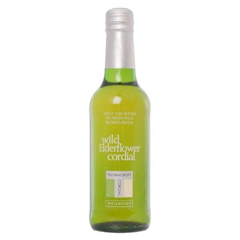 Thorncroft Detox Cordial Review by Thorncroft Elderflower Cordial 330ml From Ocado