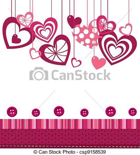 vectores de fondo rosa y illustraciones libre de derechos eps vectores de corazones plano de fondo corazones con