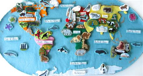animals of the ocean for the montessori wall map continents imagine our life
