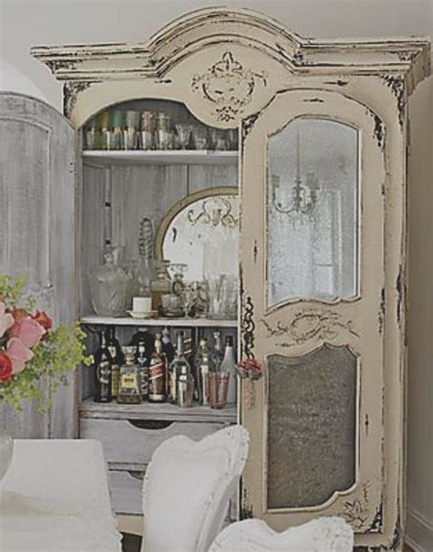 9 best images about shabby chic china cabinets on pinterest painted cottage china cabinet
