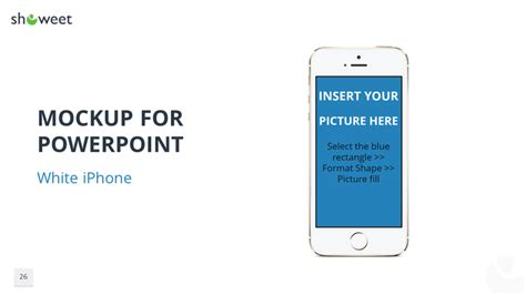 powerpoint iphone template mockups graphics and templates for powerpoint