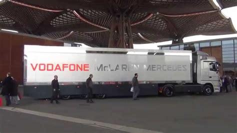 mclaren truck mclaren mercedes truck in germany hd 1080p