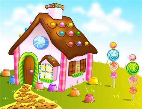 candyland dream by helenlight candy landscape