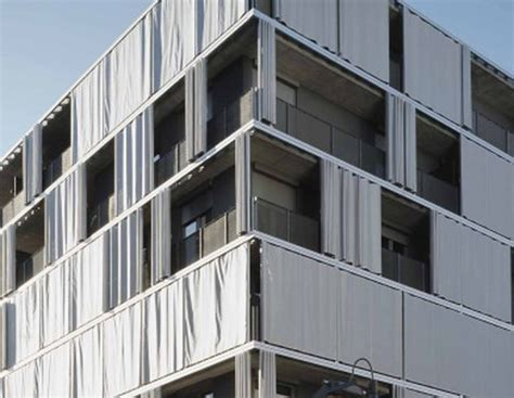 exterior curtain exterior curtain as solar shading in zurich by agps 306
