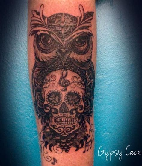 tattoo owl music 54 best images about tattoos on pinterest owl skull