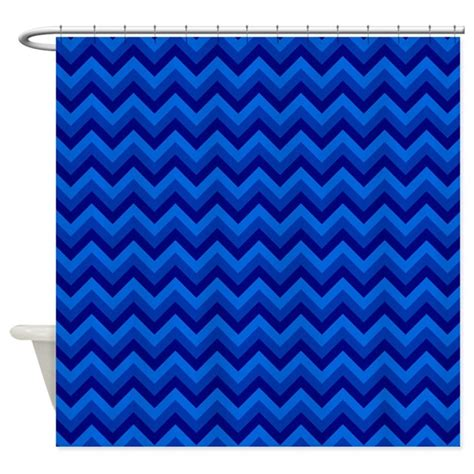 zig zag pattern curtains dark blue zig zag pattern shower curtain by metarla