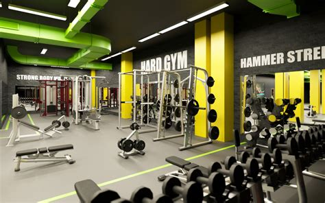 Rpac Fitness Classes 2 by 3d Visualization Fitness Club In Style High Tech