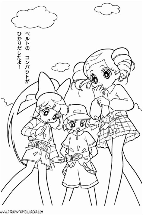 awesome with powerpuff girls z coloring pages