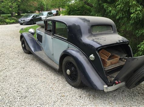 bentley derby 1936 bentley derby 4 1 4 litre stock 20279 for sale near