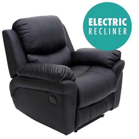 electric recliner armchair madison electric real leather auto recliner armchair sofa
