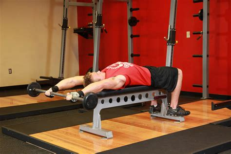 flat bench pullover front raise and pullover exercise guide and video
