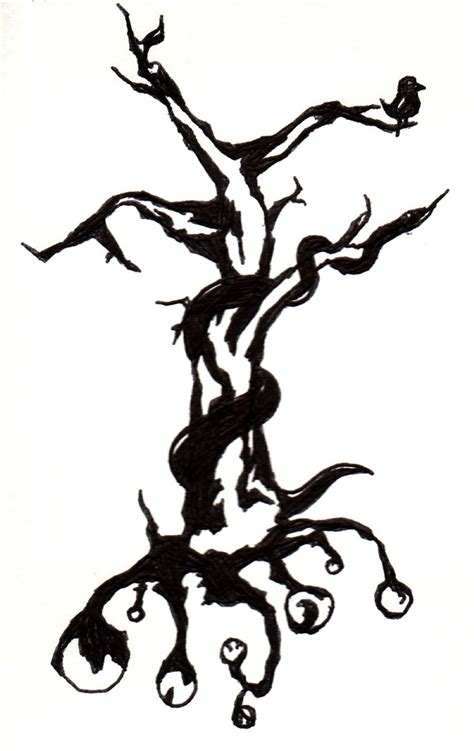tribal tree tattoo designs cool tribal tree design picture