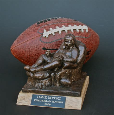 fantasy football armchair quarterback trophy win a free fantasy football trophy contest