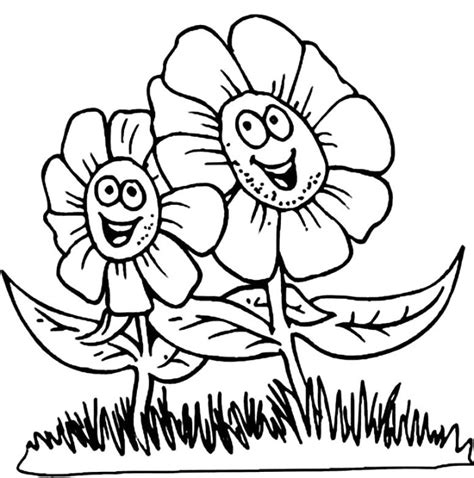 coloring pages of flowers for s day flower images az coloring pages