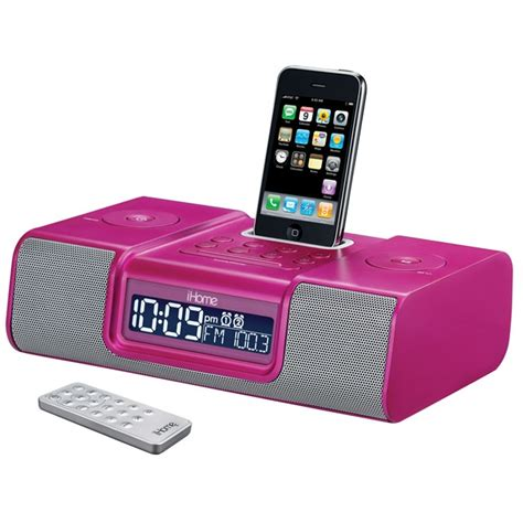 i home ihome ip9 iphone alarm clock review ihome iphone speakers