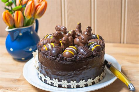 Nice Home Decorating Ideas easter chocolate praline layer cake the co op maison