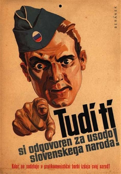 Plakat We Want You by Yugoslav Propaganda Poster Posters Wwii