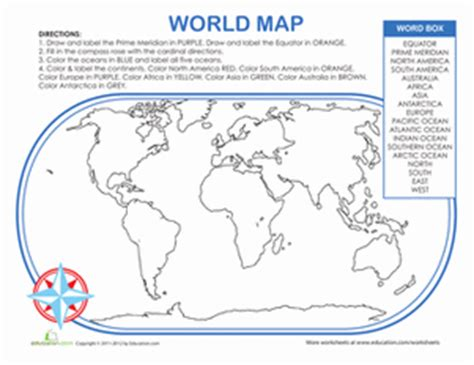 map activities for us geography classes world map activity worksheet education