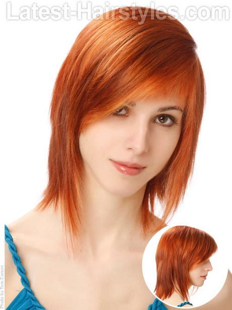 easy hairstyles for medium layered hair edgy haircuts easy hairstyles for hair