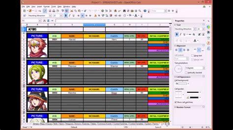 Spreadsheet Maker by Rpg Maker Mv Tutorial Spreadsheet