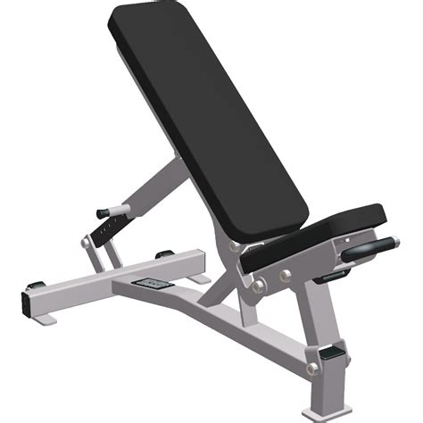 folding multi adjustable weight bench hammer strength