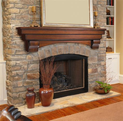 Mantle Of Fireplace by 48 Quot The Auburn Curved Corbel Mantel Shelf