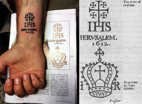 crusaders cross tattoo ancient shop in jerusalem has been tattooing