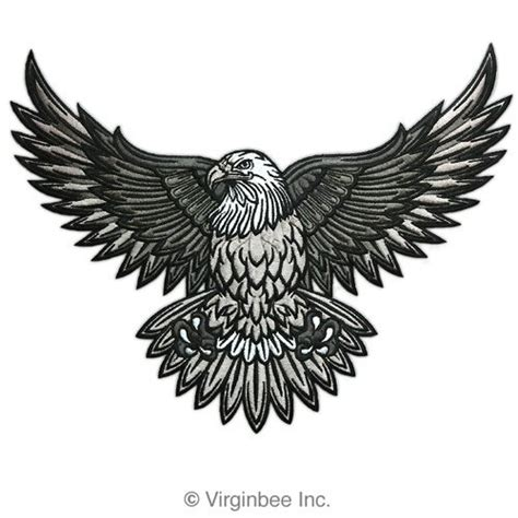 eagle tattoo designs tumblr black eagle tattoo design by wolfsjal