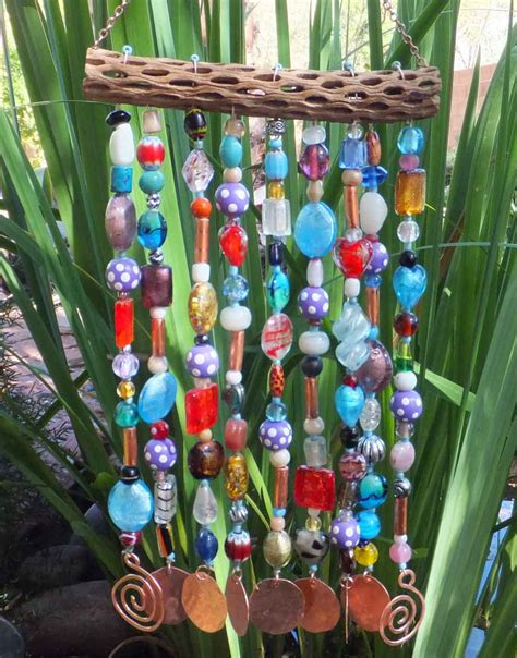 diy beaded wind chimes 1000 images about beaded wind chimes on