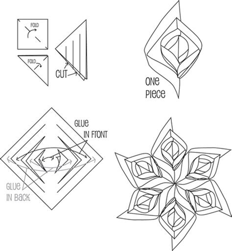 3d paper cutting templates 5 best images of 12 sided snowflake printable template