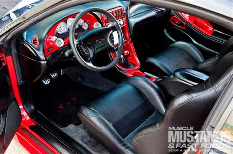 2000 Mustang Interior Parts by 2000 Ford Mustang Gt Two Tone Terror Mustang