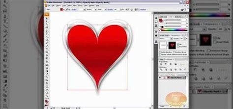 draw heart illustrator how to draw a vector heart in adobe illustrator 171 adobe