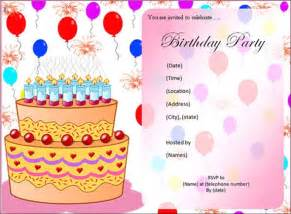 photo invitation templates sle birthday invitation template 40 documents in pdf
