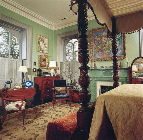 mercer house master bedroom historic interior