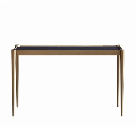marble top console touched d brass gold marble top console table