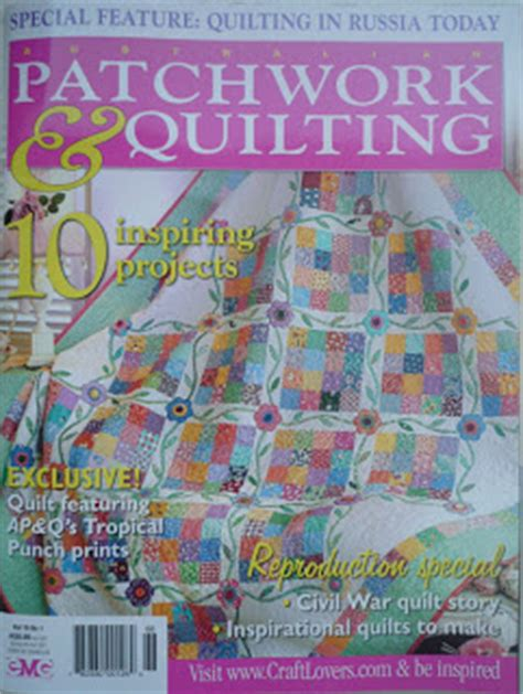 Patchwork Quilt Story - feature story australian patchwork quilting