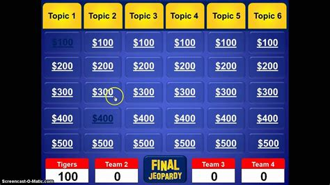 blank jeopardy powerpoint template template idea gt gt 18