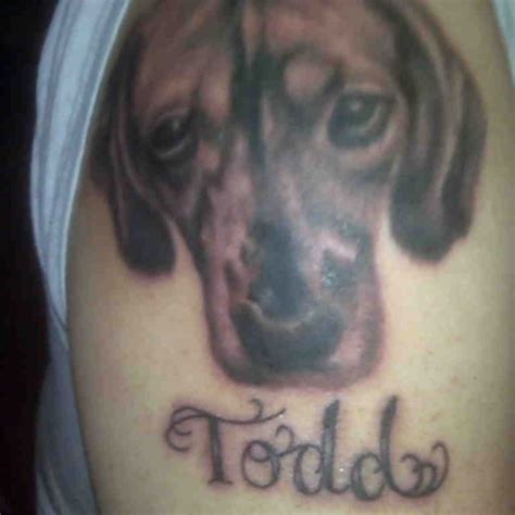 karma tattoo erie pa 22 best beagle boxer tattoos images on