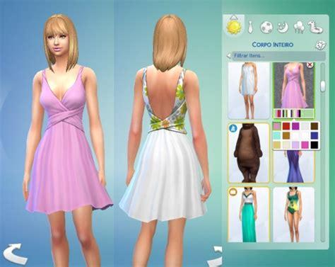 Kiara Dress twist dress by kiara zurk at my stuff 187 sims 4 updates