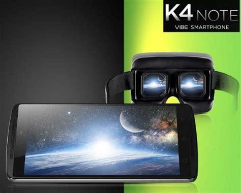 Lenovo Vibe K4 Note Theatermax Lenovo Launches Vibe K4 Note With Theatermax Technology