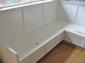 corner bench seating with storage kitchen