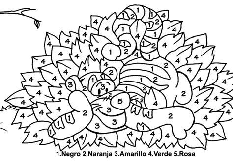 Dibujos De Navidad Para Colorear Por Numeros | dibujos para colorear por numero imagui